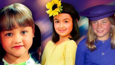 Así han cambiado las niñas estrellas de telenovelas de los años 90
