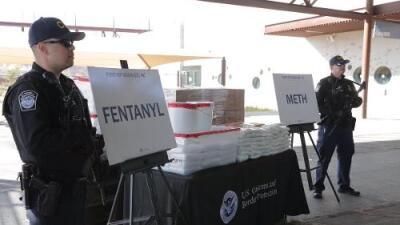 El decomiso de fentanilo más grande de la historia: autoridades de Arizona incautan 250 libras de la letal droga
