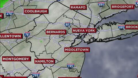 Ventana al Tiempo: Nueva York se prepara para un domingo nuboso y pasado por lluvias
