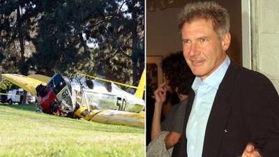 Choca el avión de Harrison Ford, lo hospitalizan tras el accidente