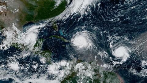 Así sería la temporada de huracanesen el Atlántico de 2018: 14 tormentas tropicales y 7 ciclones