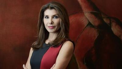 La conocida periodista Patricia Janiot se incorpora a Univision Noticias en enero de 2018
