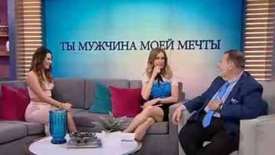 Lili y Raúl intentaron aprender ruso junto a la talentosa Irina Baeva, ¿cómo les iría?