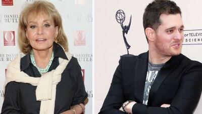 Barbara Walters quiere ver el pene de Michael Bublé