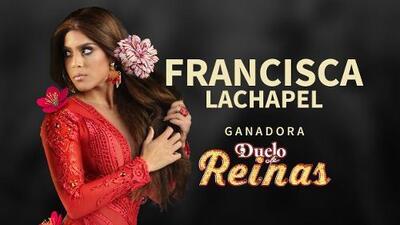Francisca Lachapel ganó Duelo de Reinas, según el voto de los fans