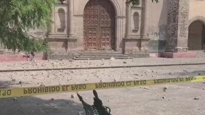 Los momentos de angustia que se vivieron en Coyoacán con el terremoto de Ciudad de México