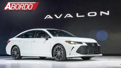 Detroit Auto Show 2018: Toyota Avalon 2018 - A Bordo