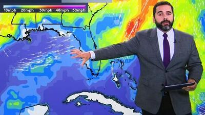 Se avecina grupo de tormentas en la Costa Este de EEUU
