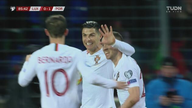 ¡Ahora sí! Gooooool de Cristiano Ronaldo y 2-0 para Portugal