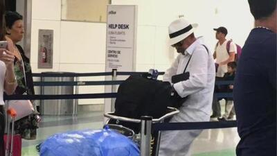 Presentador del noticiero de la Televisión Cubana fue sorprendido en el Aeropuerto de Fort Lauderdale