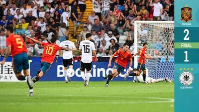 Final del Europeo Sub-21: España vence a Alemania con su súper generación