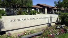De paseo por la Biblioteca y Museo Presidencial de Ronald Reagan en la ciudad de Simi Valley