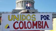 Comunidad colombiana protesta frente al capitolio de Salt Lake City