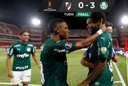 Palmeiras le da un baile a River Plate en la Libertadores