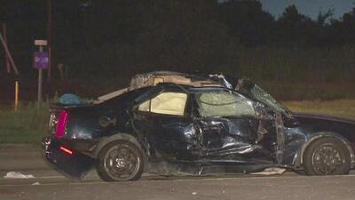 Un adulto y un niño de 2 años resultaron heridos tras un accidente en el noroeste de Houston
