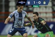 Pachuca derrota a Santos Laguna y aún sueña con el Repechaje