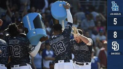 Padres dejaron tendidos a los Dodgers con Grand Slam de Renfroe