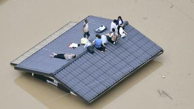 Decenas de muertos tras las torrenciales lluvias que causan inundaciones en Japón