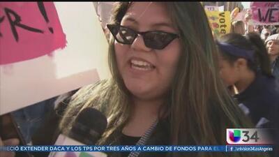 Las mujeres de Los Ángeles en una sola voz