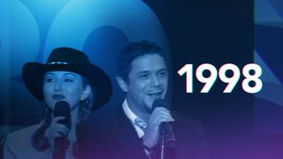 Premio Lo Nuestro celebró diez años de su nacimiento en 1998