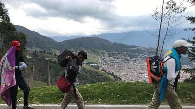 It's a long, downhill journey for Venezuela's reverse refugees