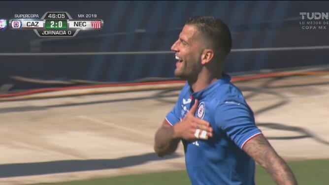 ¿Te acuerdas de los goles de Edgar Méndez? Puso el 3-0 en la Supercopa ante Necaxa