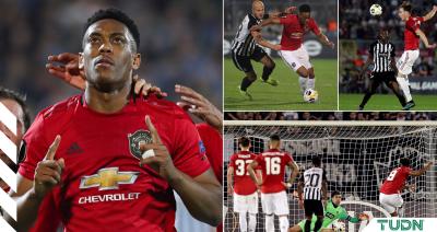 Manchester United sufre en Belgrado pero derrota a Partizan en la Europa League