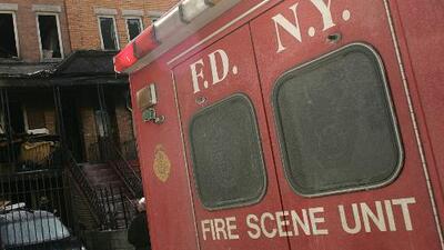 Un hombre murió en medio de un incendio en Manhattan