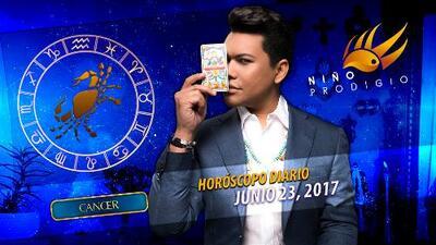 Niño Prodigio - Cáncer 23 de junio 2017