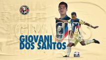 Giovani dos Santos se suma a las bajas del América