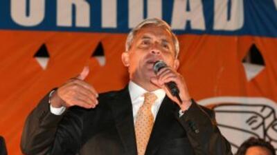 Militar derechista Otto Pérez lidera intención de voto