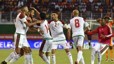 Marruecos se impuso a Costa de Marfil y se metió a Rusia 2018