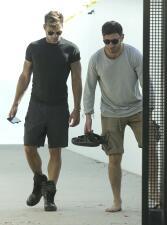 Ricky Martin y Jwan Yosef de paseo