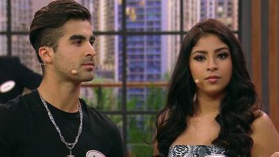 Mayra responde cantando si quiere conocer más a Diego (él intentó conquistarla así)