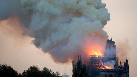El incendio en Notre Dame y otros sucesos trágicos en la historia que ocurrieron un 15 de abril