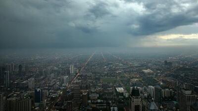 Regresan las lluvias a Chicago acompañadas de posibilidad de tormentas pasajeras este miércoles