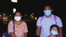 Acompañamos a una familia en Honduras que inició un recorrido para llegar a EEUU