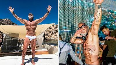 Así es Gianluca Vacchi, el millonario italiano que presume de su vida perfecta en Instagram