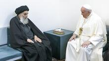 Misa pública e histórica reunión con líder musulmán: la segunda jornada de Francisco en Irak