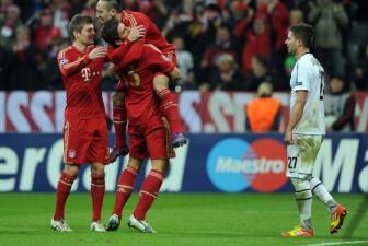 Bayern y Marsella pasaron a Cuartos