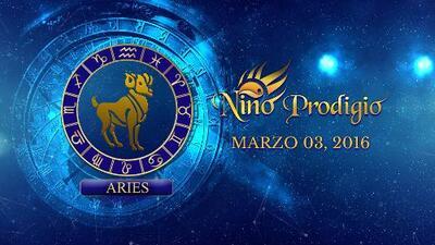 Niño Prodigio - Aries 3 de marzo, 2016