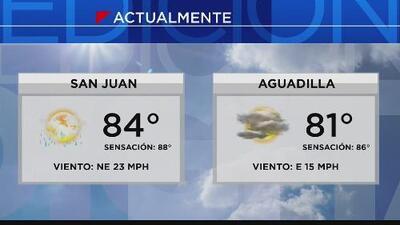 Se registran lluvias ligeras en San Juan