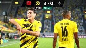 ¡Aparecieron las joyas! Dortmund golea con tantos de Reyna y Haaland