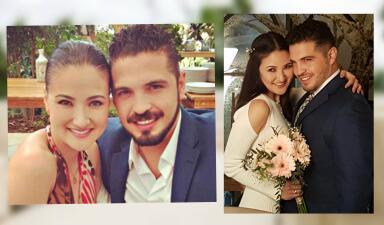Exclusiva: las fotos nunca antes vistas de la boda de Hiromi y su viudo Fernando Santana