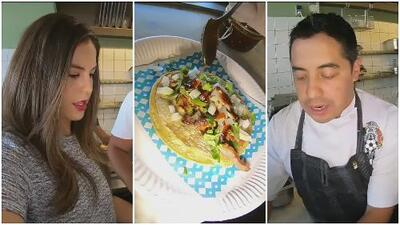 El diario de Ana Caty: el chef de El Tri preparó los más deliciosos tacos en un restaurante mexicano de Rusia
