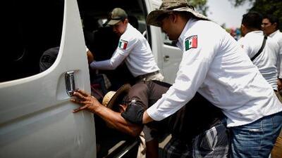 México responde por redada contra cientos de migrantes y asegura que no obedece a intereses de EEUU
