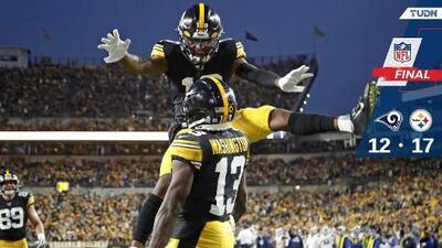 Steelers logra su quinto triunfo ante Rams