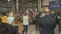 Kamala Harris impulsa el plan nacional de empleo en visita a Carolina del Norte