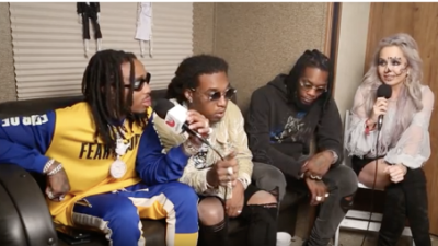 Migos abruptly walks out of Dana Cortez interview