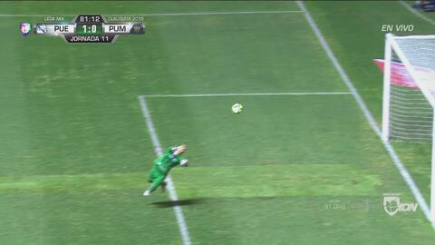 Saldívar rechaza y Chumacero se queda con ganas del 2-0